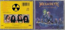 Megadeth - Rust in Peace  (CD, Oct-1990, Capitol/EMI Records) CDP-591935