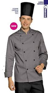 Chef Jacket Chef Line Grey ISACCO Jacket Chaqueta ШЕФ КУРТКА Kochjacke 总厨服