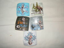 5-Disney Frozen Movie Olaf  Stickers Party Favors