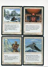 4-magic lot ice age red scarab fylgja kjeldoran warrior skyknight