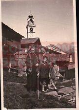 FOTO DEL 1927 TURISTI IN MONTAGNA  C8-581