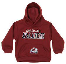 OuterStuff NHL Infant and Toddler's Colorado Avalanche Fleece Hoodie, Maroon
