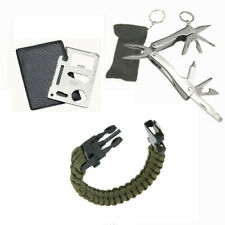 Camping Survival Pocket Multi Tools  Kit Outdoor Sports Camping Hiking Hunting