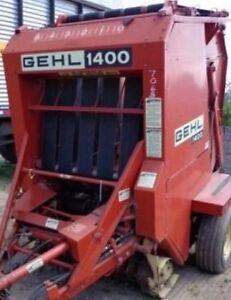 For Gehl Round Baler Lower Belt V Guide 66556 1400 1440