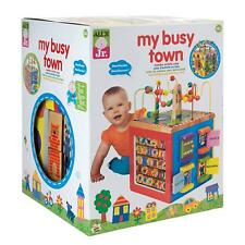 Wooden Activity Cube Learning Toy Baby Toddler Play Development Activity Gift