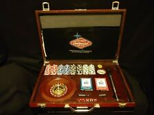 Las Vegas Centennial Official Multi Casino Game Kit In Wooden Case 1905-2005