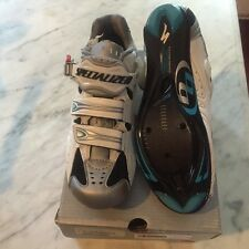 New Women's Specialized Pro Road Shoes Size 37 Carbon Sole White