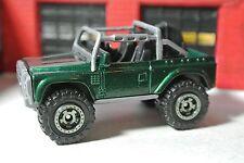 Matchbox Land Rover SVX - Green - Loose - 1:64