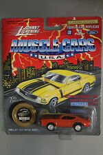 Johnny Lightning 1:64 Scale Muscle Cars USA City Limits 1969 Olds 442 ORANGE