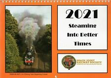 M&GN Joint Railway Society 2021 Calendar, Steaming Into Better Times