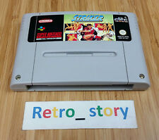 Super Nintendo SNES Striker PAL