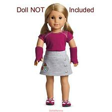 NEW AMERICAN GIRL FRESH & FUN OUTFIT~Shoes~Skirt~Gloves~Isabelle~Mix & Match $30
