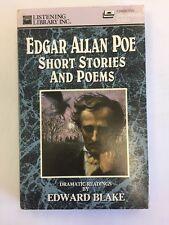 Edgar Allan Poe Short Stories And Poems On 2 Cassettes