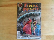 1996 VINTAGE DC FINAL NIGHT # 1 LSH & JLA SIGNED BY KARL KESEL, WITH POA