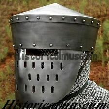 OOSNorman Kalota Medieval Helmet A Great Display Item / Re-enactment or LARP 8S0