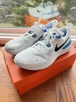 Nike React Miler Athletic Running Shoes White Blue CW1777-100 NEW Men's Size 11