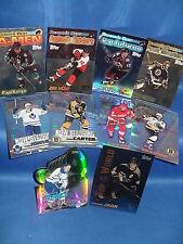 1998-99 TOPPS HOCKEY - INSERT CHASE (10) NHL CARDS ! STEVE YZERMAN !