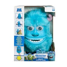 SULLEY MONSTERS MASK Moves With Your Face Disney Pixar University Inc Furry NEW
