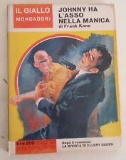 LIBRO FRANK KANE - JOHNNY HA L'ASSO NELLA MANICA - IL GIALLO MONDADORI 850