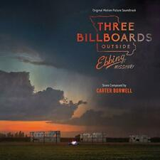 Three Billboards Outside Ebbing, Missouri - Soundtrack - Carter Burwell (NEW CD)