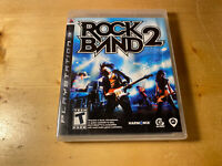 Rock Band 2 (Sony PlayStation 3 PS3, 2008) Complete - Tested - FREE SHIPPING !!