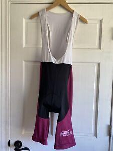AF41 Cycling Praising Life Bib Shorts Pink Black Womens 3XL