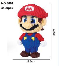 4500pcs MAGIC BLOCK TOY red Super Mario DIY Figure Building Block Toy YEAR 14+