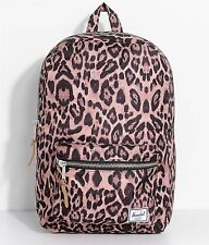 NWT Herschel Supply Co. Settlement Mid Volume Leopard Brown 17L Backpack Campus