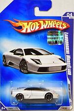 HOT WHEELS 2009 DREAM GARAGE LAMBORGHINI MURCIELAGO #04/10 WHITE FACTORY SEALED