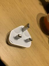APPLE Official 3 Pin Plug Socket for iPhone iPad iPod Charger NEW