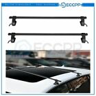 48universal Roof Top Luggage Cargo Cross Bars Rack Black Fits Suv And Truck
