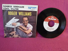 Roger Williams, Sunrise Serenade / Cool Water, Kapp Records K 301X, 1959, PROMO