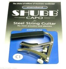 Shubb Guitar Capo C1 - Nickel
