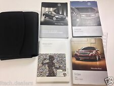 2010 Mercedes E-Class Owner's Manual Owner Book & Leather Case