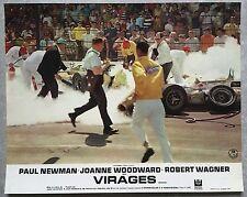 Photo Original VIRAGES Winning PAUL NEWMAN Indianapolis 500 FORMULE 1 Racing  B*