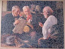 AB394 PASTIME PICTURE  PUZZLE 200 Pièces BOIS LES TROIS VIEUX PARKER Complet