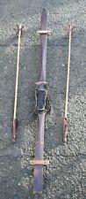 Antike Holzski - SKI - Huck Bindung - Super Winter Deko (303-19)*