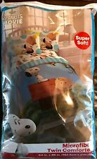 Blue Sky The Peanuts Movie Twin Comforter New With Tags