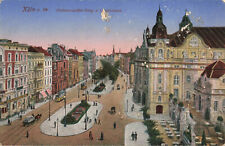 More details for koln a. rh. hohenstaufen-ring germany very rare vintage postcard 1919.