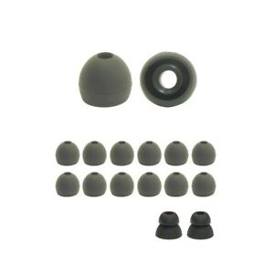 replacement earbud tips, earbuds tips, silicone ear tips + sample bilevel tips