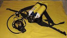 MSA Auer Pressluftatmer Trageplatte BD 96 SL Single Line Atemgerät Feuerwehr