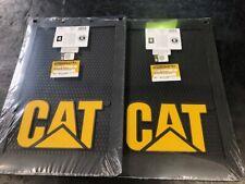 """CATERPILLAR Mud Flaps   12"""" x 18"""" Item CAT2675-CAT Pair CAT 4X4"""