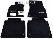 LEXUS OEM FACTORY FLOOR MAT SET 2007-2012 LS460L BLACK AWD LWB PT208-51154-20