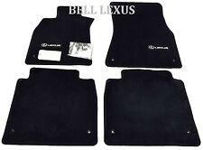 LEXUS OEM FACTORY FLOOR MAT SET 2007-2012 LS460L BLACK AWD LWB PT208-51154-20