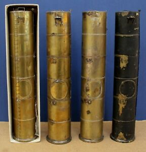 Lot of 4 Vintage Kemtron O Scale 40' vertical Oil Tanks 1 boxed (or 71' HO)