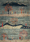 Hand-knotted Rug (Carpet) 4'1X5'7, Gabeh mint condition