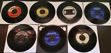 Lot of 7 Assorted Records from Labels in NA/UK  45RPM (Used)