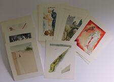 Authentic 1960 SALVADOR DALI SIGNED Complete 100 DIVINE COMEDY Woodcuts COA