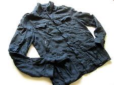 """Men's All Saints 'Baedeker' Linen Jacket. 40"""" Chest. Good Condition."""