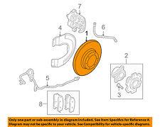 MITSUBISHI OEM 05-06 Lancer Front Brake-Disc Rotor 4615A031